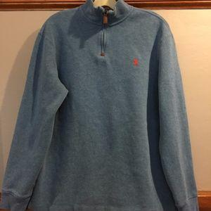 Ralph Lauren 1/4 zip Blue Label Sweater size M